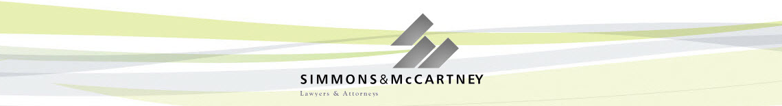 SIMMONS & MCCARTNEY LAWYERS & ATTORNEYS Logo