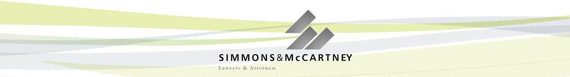 SIMMONS & MCCARTNEY LAWYERS & ATTORNEYS Logo